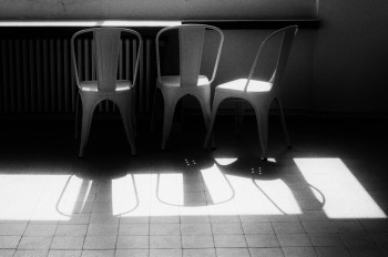 Chairs facing the sun
